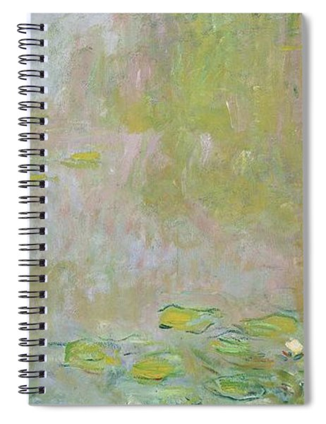 Waterlilies At Giverny Spiral Notebook