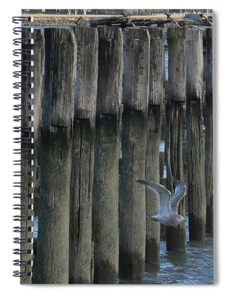 Waterlines Spiral Notebook