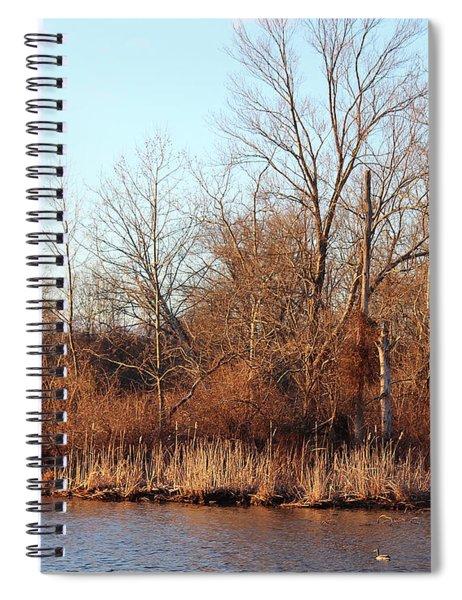 Northeast River Banks Spiral Notebook