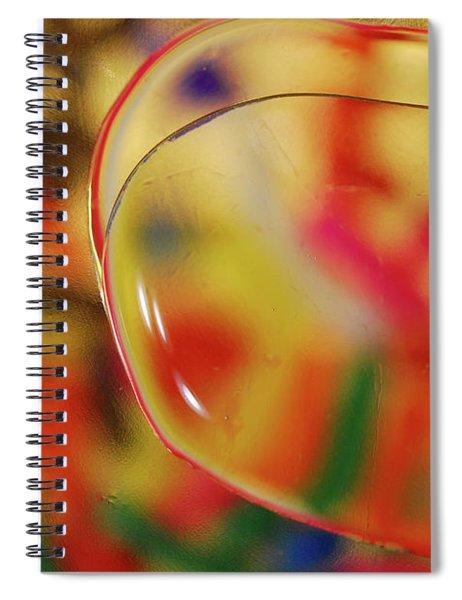 Waterscape 25 Spiral Notebook