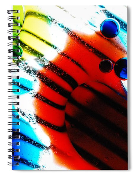 Waterscape Crystal Primary Spiral Notebook