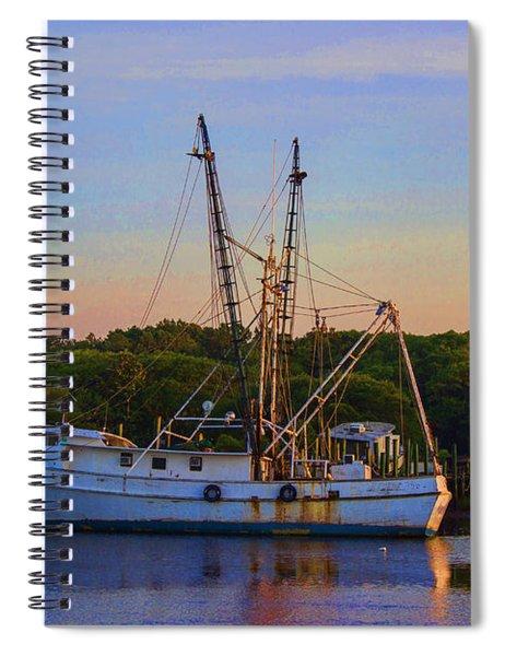 Old Shrimper Spiral Notebook