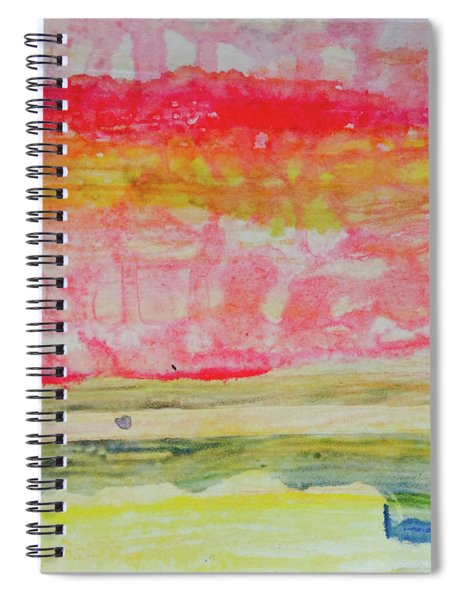 Watery Seascape Spiral Notebook
