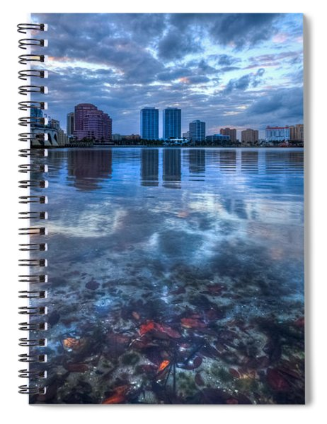 Watery Treasure Spiral Notebook