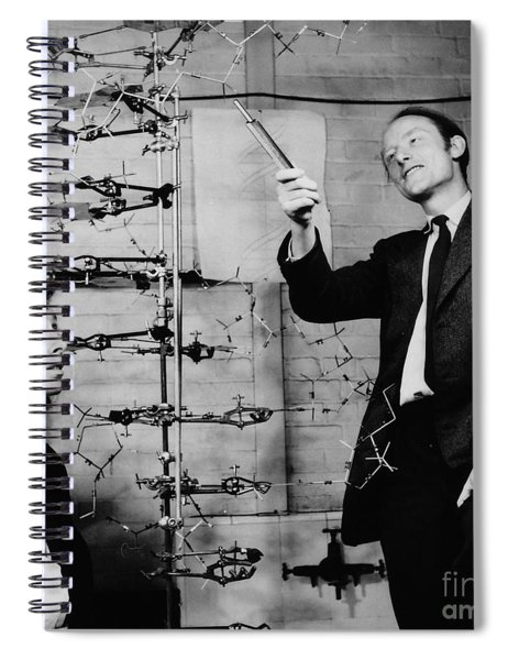 Watson And Crick Spiral Notebook