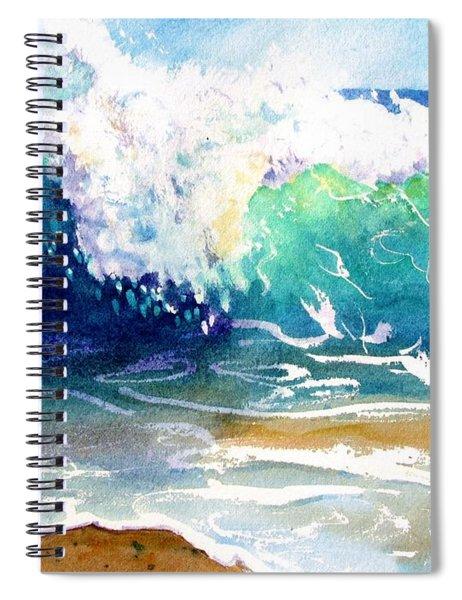 Wave Color Spiral Notebook