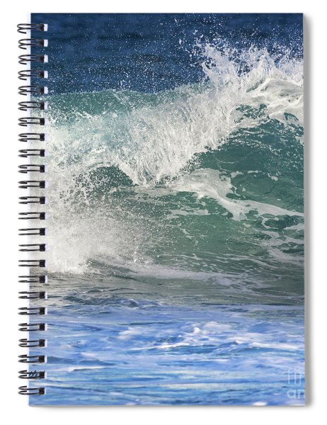 Wave Of Emotion Spiral Notebook