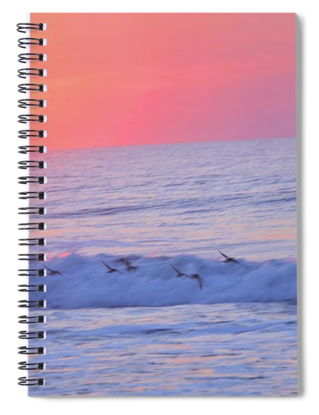 Wave Of Gratitude Nature Art Spiral Notebook