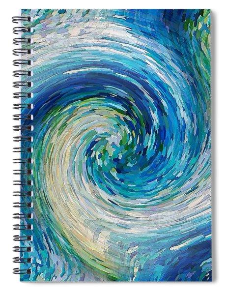 Wave To Van Gogh II Spiral Notebook