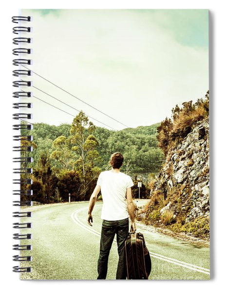 Way Of Old Travel Spiral Notebook