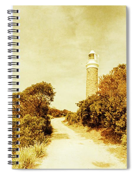 Wayback Beacon Spiral Notebook