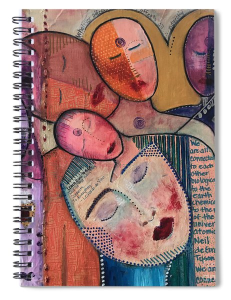We Are All Connected Spiral Notebook