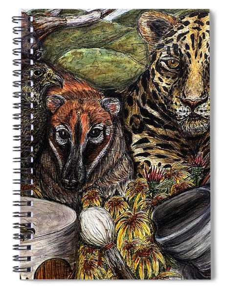 We Are All Endangered Spiral Notebook