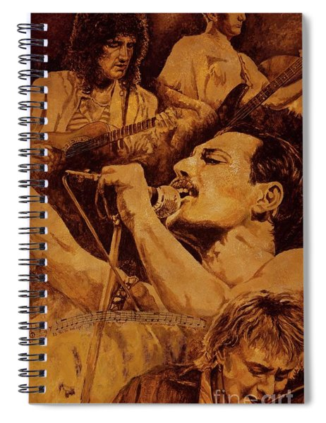 We Will Rock You Spiral Notebook