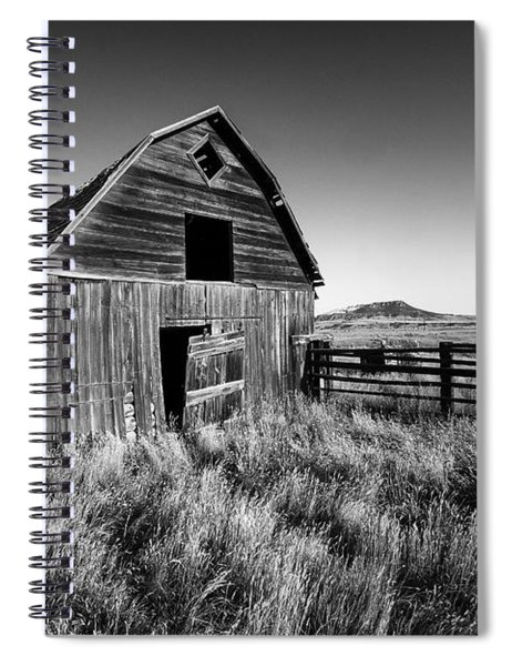 Weathered Barn Spiral Notebook