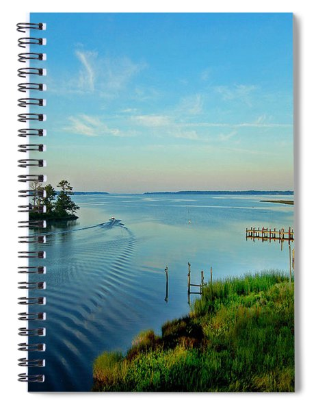 Weeks Bay Going Fishing Spiral Notebook