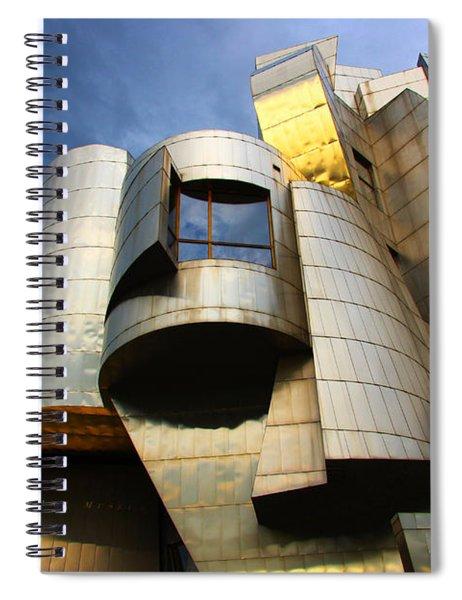 Weisman Art Museum University Of Minnesota Spiral Notebook