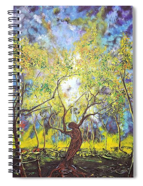 Wekiva Lady Spiral Notebook