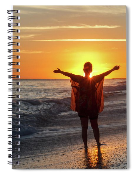 Welcome A New Day Spiral Notebook