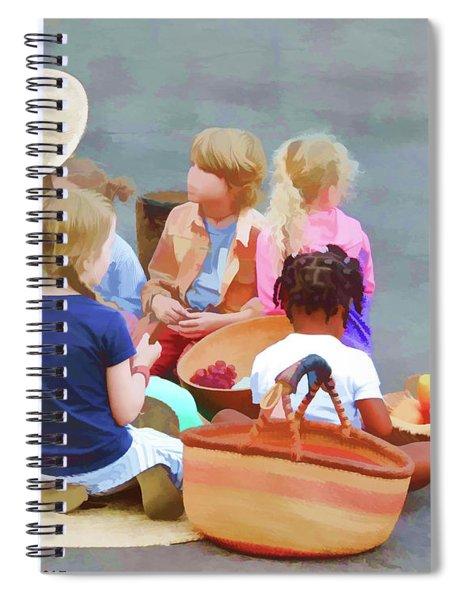 Welcome The Children Spiral Notebook