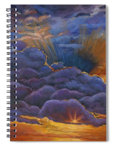 Welcome The Night Spiral Notebook