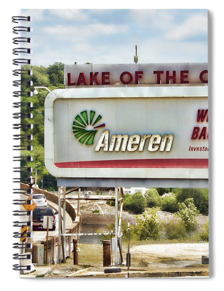 Welcome To Bagnell Dam Spiral Notebook
