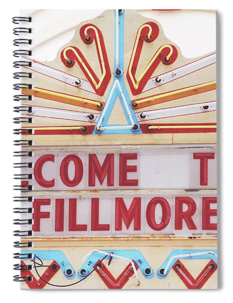Welcome To Fillmore- Photography By Linda Woods Spiral Notebook