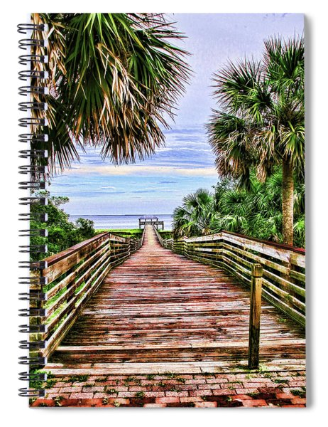 Welcome To Paradise Spiral Notebook