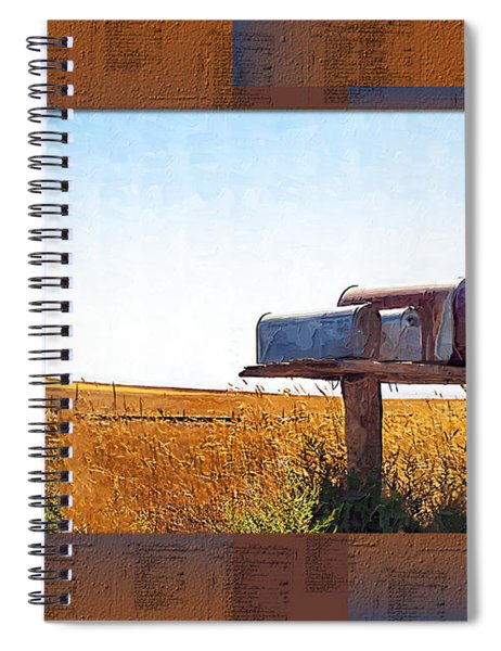 Welcome To Portage Population-6 Spiral Notebook