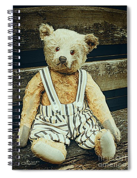 Well Advanced In Years Spiral Notebook