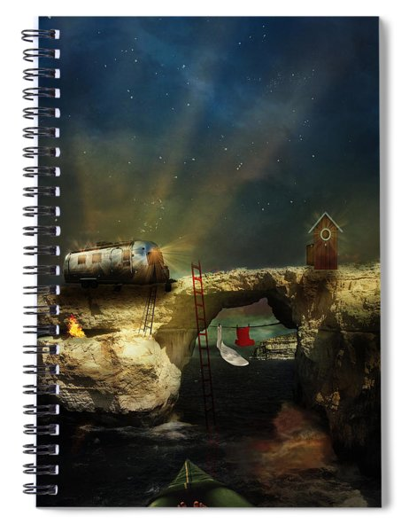 We'll Leave The Lights On Spiral Notebook