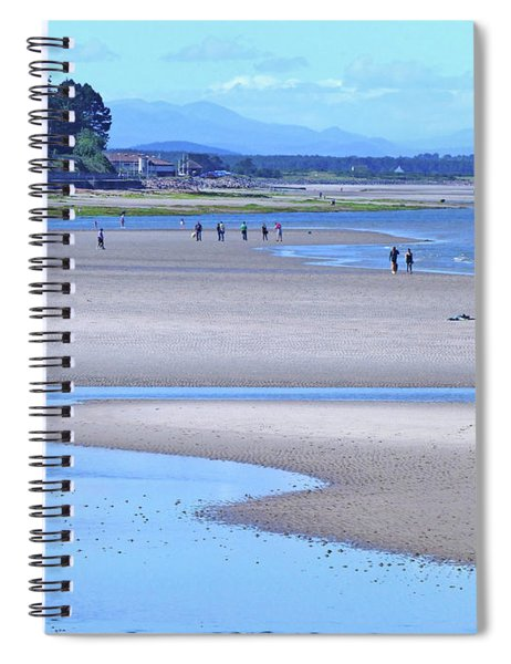 West Beach - Nairn Spiral Notebook