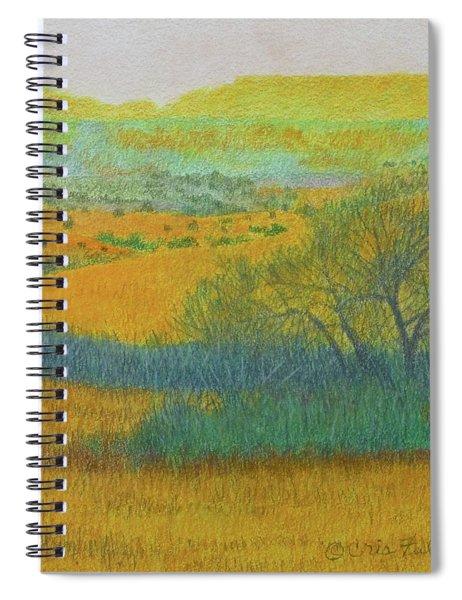 West Dakota Reverie Spiral Notebook