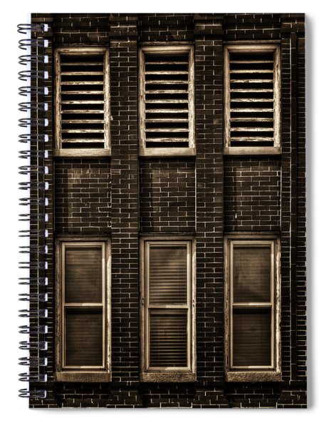 West Dundee Village Hall Tower Windows And Vents Spiral Notebook