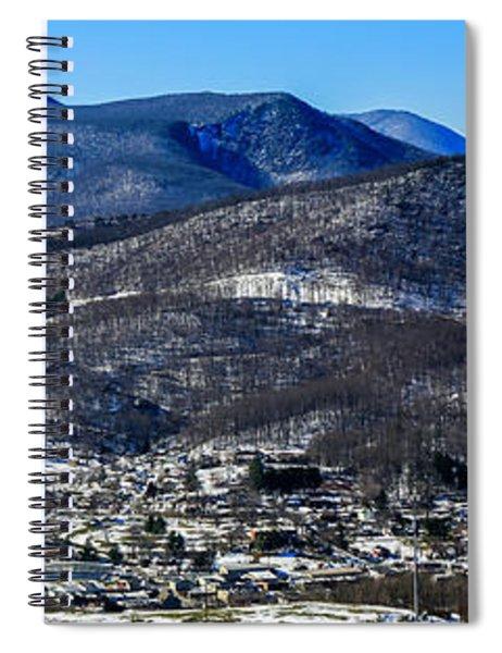 West Jefferson Snowscape Spiral Notebook