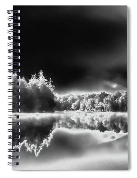 West Lake Backlit Spiral Notebook