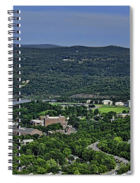 West Point From Storm King Overlook Spiral Notebook
