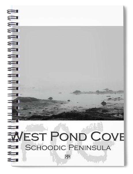 West Pond Cove Spiral Notebook