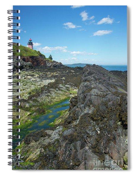 West Quoddy Head Light Spiral Notebook