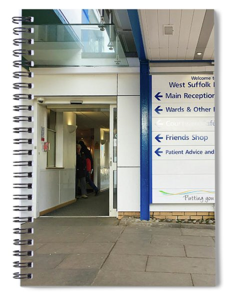West Suffolk Hospital Spiral Notebook