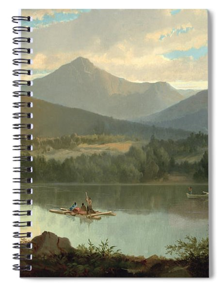 Western Landscape Spiral Notebook