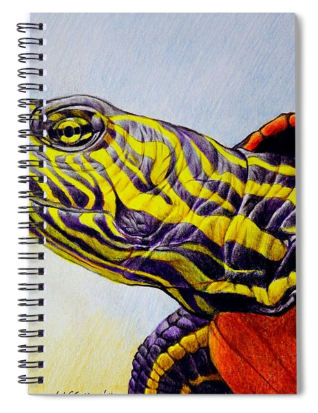 Western Painted Turtle Spiral Notebook