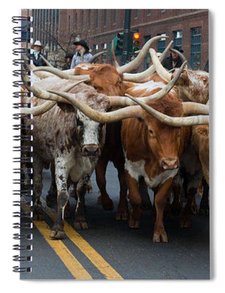 Western Stock Show Spiral Notebook