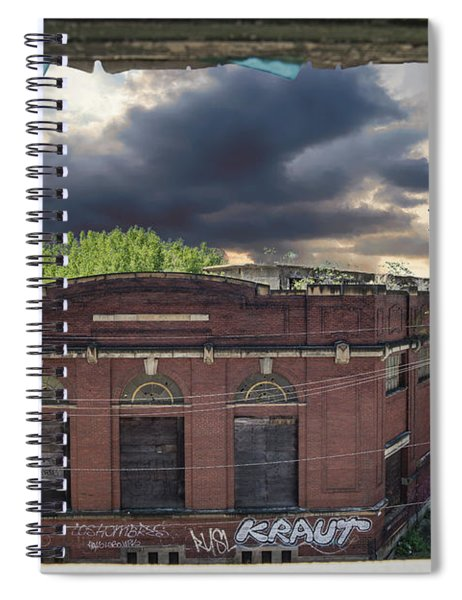 Westinghouse In A Storm Spiral Notebook