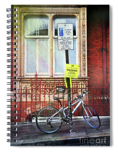 Westminster Bicycle Spiral Notebook