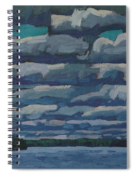 Westport Stratocumulus Virga Spiral Notebook