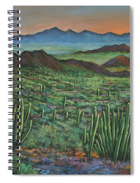 Westward Spiral Notebook