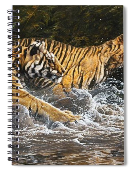 Wet And Wild Spiral Notebook