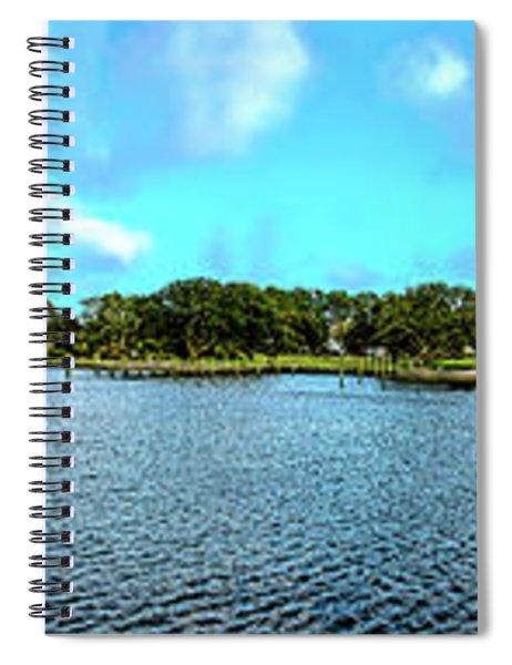 Whalehead Club Panorama Hdr Spiral Notebook