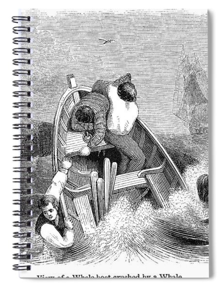 Whaling, C1830 Spiral Notebook